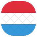 Luxembourg National Country Icon