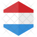 Luxembourg Country Flag Icon