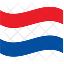 Flag Country Luxembourg Icon