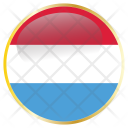 Luxembourg National Holiday Icon
