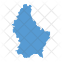 Luxembourg Map Icon