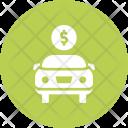 Luxury Dealership Car Icon
