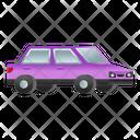 Luxury Car Automobile Vehicle Icon