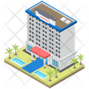 Luxury Hotel Architecture Hotel Motel Icon
