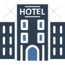 Hotel Building Guest House Icon