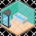 Luxury Washroom Icon