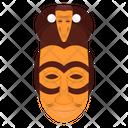 Lwalwa Mask Tribal Mask Cultural Mask Icon
