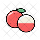 Lychee Icon Fruit Lychee Icon