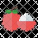 Lychee Organic Vegetarian Icon