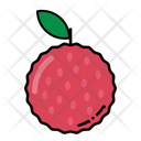 Lychee Fruit Healthy Icon