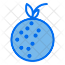 Lychee Healthy Food Fruit Icon