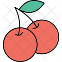 Lychee Prune Fruit Stone Fruit Icon
