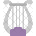 Lyre Harp Instrument Icon