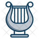 Harp String Instrument Lyre Icon