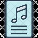 Lyric Paper Icon