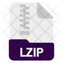 Lzip File Icon