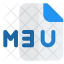 M 3 U File Icon