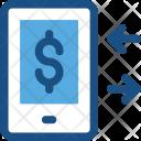 Mobile Transaction Online Icon