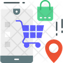 M Commerce E Commerce Shopping Icon