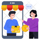Online Shopping Online Buying E Shopping Icon