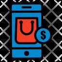 M Commerce Mobile Finance Icon