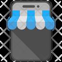 M Commerce Mobile Shop Icon