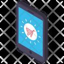 Online Shopping M Commerce Internet Buying Icon
