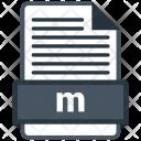 M file Icon