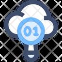 M Search Data Icon