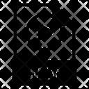 M 1 V File Icon