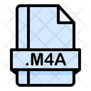 M 4 A File File Extension Icon