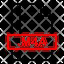 M 4 A File Icon