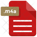 M 4 A File Document Icon