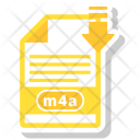 M 4 A File Format Icon