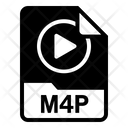 M4P file Icon