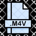 M 4 V File File Extension Icon