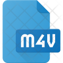 M 4 V File Video Icon