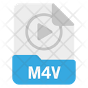 File M 4 V Format Icon