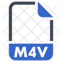 M 4 V Document File Icon