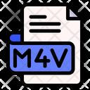 Mv File Type File Format Icon