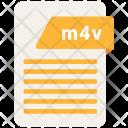 M 4 V File Format Icon
