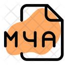 Ma 4 File Audio File Audio Format Icon