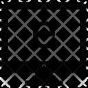 Mac Screen Display Icon