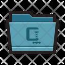 Folder Mac Compressed Icon