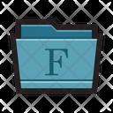 Mac fonts folder Icon