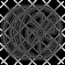 Mac Wheel Alloy Wheel Rim Icon