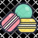 Dessert Biscuit Macaron Icon
