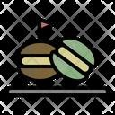 Macaron Bakery Delicious Icon