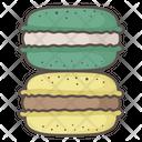 Macaron French Treat Icon