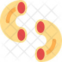 Macaroni Pasta Italian Icon
